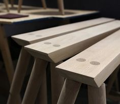 Production. #rockportsawhorse #rockportcollection #studiodunn