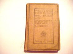1907 Websters First Bunker Hill Oration and by parkledge on Etsy, $125.00