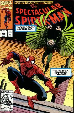 Peter Parker, The Spectacular Spider-Man # 186 by Sal Buscema