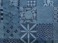 Textiles adire de Nigeria