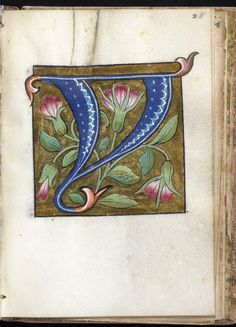 """Y"" Leaf from Alphabet Book 