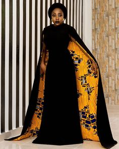 How gorgeous is this dress by fashion label #Nanawax?! Flawless. Inspired by Solange wedding dress. #hidjabstyle #turbanista #solangeknowles #africanprint #madeinafrica