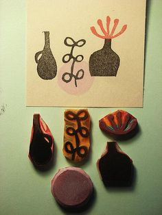 I used to work for a rubber stamp factory. True story.   |    DearYouFromKozue, via Flickr