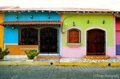 Colorful Architecture | Leon, Nicaragua