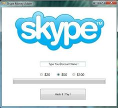 Skype credit adder tool free download no survey, no password. This Skype credit generator online tool is here 4 unlimited money. Hack Skype Credits Free.