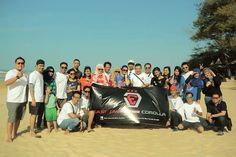 "Ejanc family ghatering ""lombang beach"""