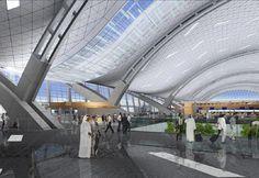 Doha international airport, Qatar  HOK