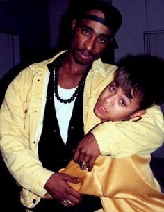 """poem written by Tupac Shakur titled, """"Jada."""" He wrote it for Jada Pinkett Smith.  JADA (4 Jada)  U r the omega of my heart  The foundation 4 my conception of love  When I think of what a black woman should be  It's u that I first think of  U will never fully understand  How deep my heart feels for u  I worry that we'll grow apart  And I'll end up losing u  U bring me 2 climax without sex  And u do it all with regal grace  U r my heart in human form  A friend I could never replace"""