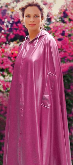 Rotes Latexcape