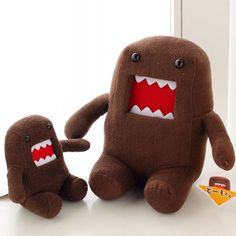 J.G Chen Hot Sale 18CM Domokun Funny Domo-kun Doll Children Novelty Creative Gift the Kawaii Domo Kun Plush Toys For Kids Alternative Measures