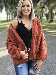 Love from the start cardigan Open Cardigan, Popcorn, Latest Fashion, Boutique, Sweaters, How To Wear, Sweater, Boutiques, Sweatshirts