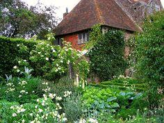 Sissinghurst Castle Garden in Kent, England. Designed by Vita Sackville-West