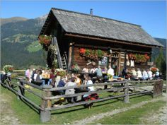 Steineggen Alm, Lesachtal, Carinthia, Austria