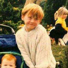 Gina Harry Potter, Young Harry Potter, Harry Potter Ron Weasley, Harry Potter Icons, Mundo Harry Potter, Harry Potter Feels, Harry Potter Tumblr, Harry Potter Jokes, Harry Potter Pictures