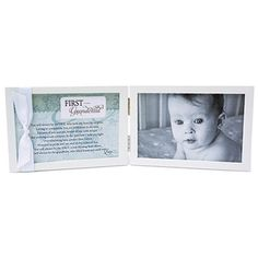 First Grandchild Poem Picture Frame 4x6 Horizontal