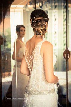 Wedding hairstyle, beautiful creations by Luca Olianas. Sardinia.