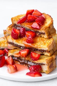 I love an indulgent breakfast, usually on the weekends or holidays but I would take these any day of the year. These are perfect to make for that special s