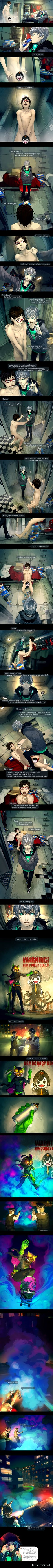 Fisheye Placebo: Ch1- Part 2 by yuumei.deviantart.com on @deviantART