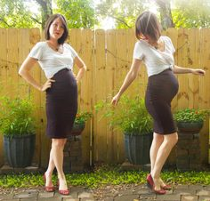 10 DIY Maternity Clothes You Can Sew...OR PAM CAN!!! :-)