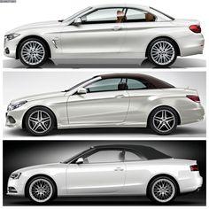 BMW 4 Series Convertible vs. Mercedes-Benz E-Class vs. Audi A5 Convertible