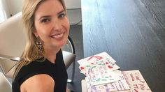 Ivanka Trump posted a picture of her fan mail and got mercifully roasted