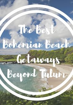 Despite what Tulum might have you believe, these bohemian beach getaways are just as beautiful and carefree—without the crowds. Romantic Weekends Away, Couple Beach, Romantic Destinations, Bohemian Beach, Mexico Travel, Central America, Tulum, Places To Visit, Around The Worlds