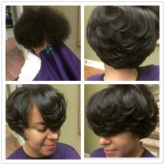 Enjoyable Quick Weave 27 Piece With Layered Side Styles By Cola Dope Short Hairstyles Gunalazisus