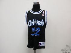 Vtg 90s Champion Orlando Magic Shaq Shaquille #32 Basketball Jersey sz Youth S #Champion #OrlandoMagic #tcpkickz