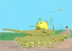 ばりぃさんと戦車
