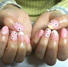 Bunny Nails, Easter Nail Art, Photo P, Nail Polish Colors, Spring Nails, Hair And Nails, Manicure, Nail Designs, Ears