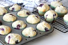 Blueberry Buttermilk Muffins - A Pretty Life In The Suburbs