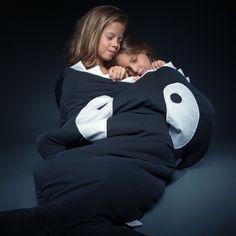 Baby Bites - Orca sleeping bag for kids - Bmini - Design voor kinderen