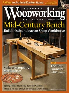 Popular Woodworking Magazine, February 2017