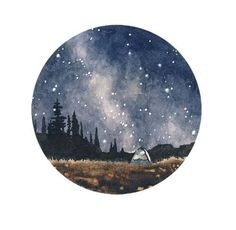Art Drawing Inspiration things are pretty great Painting Inspiration, Art Inspo, Galaxy Art, Watercolor Paintings, Tattoo Watercolor, Watercolor Ideas, Watercolor Night Sky, Night Sky Painting, Painting & Drawing