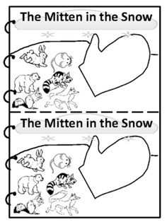 The Mitten in the Snow from FunTeach on TeachersNotebook.com -  (11 pages)  - Great Sight Word Reader