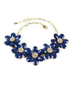 Amrita Singh Blue Lapis Crystal Nancy Necklace by Amrita Singh #zulily #zulilyfinds