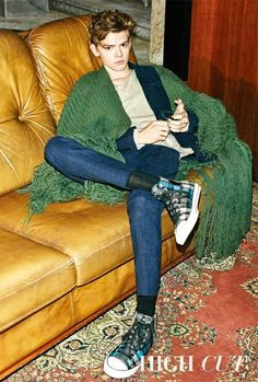 Thomas Brodie Sangster for High Cut