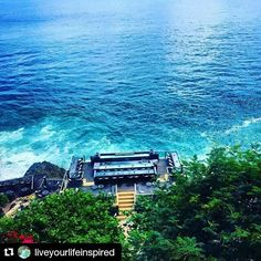 #Repost @liveyourlifeinspired with @repostapp  Follow back for travel inspiration and tag your post with #talestreet to get featured.  Join our community of travelers and share your travel experiences with fellow travelers atHttp://talestreet.com  The amazing Rock Bar Bali @ayanaresort You can't go to Bali without visiting this place!  I could have stayed here forever!  #liveyourlifeinspired #bali #indonesia #rockbar #jimbaran #ayanaresort #travel #explore #sea #doyoutravel #travelbug…