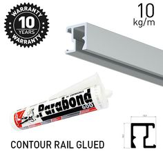 Artiteq Contour Rail Glued White Primer (No Nail/ Screws) Picture Rail Hanging, Hanging Rail, Hanging Wire, Picture Wall, Wooden Easel, Shape Matching, Simple Pictures, Simple Way, How To Do Nails