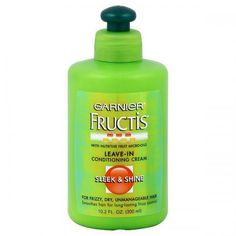 Best leave-in conditioner: Garnier Nutris Sleek n Shine. Keeps my ends healthy and smells good!
