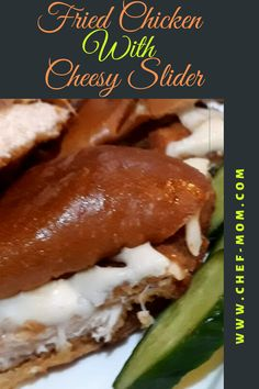 how to make fried chicken with cheesy slider , baked slider with mozzarella cheese #sliders#chicken-recipes