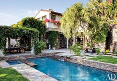 Modern Pool by Nancy Heller | AD DesignFile - Home Decorating Photos | Architectural Digest