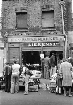 Watney Market, Shadwell, London, E1. 1970s