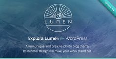 This Deals Lumen - Responsive Photography WordPress ThemeIn our offer link above you will see