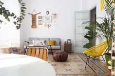 House Tour: A Dreamy Spanish Home With Patterned Floors | Apartment Therapy