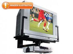 """Suporte para TV/DVD até 33"""" - Brasforma SBR 1.6 com as melhores condições você encontra no Magazine Voceflavio. Confira!"""