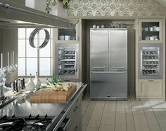 Colección Mood Inglés de muebles de lujo de la cocina por Minacciolo - Bienes Style -