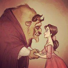 La Bella y la Bestia..