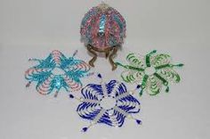 free beaded ornament cover patterns - Google Search