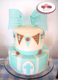 #Cake #Bautizo #Boy #CupcakeGdl